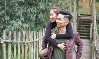 Vợ chồng Khánh Thi và Phan Hiển tình tứ ở Đà Lạt