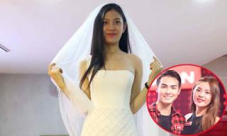 Lộ hình ảnh Chúng Huyền Thanh rạng rỡ đi thử váy cưới sau khi được bạn trai cầu hôn