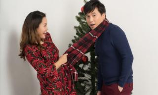 Ca sĩ Ngọc Anh 'cặp kè' trai trẻ trong bộ ảnh đón Giáng sinh