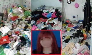 Hot girl 'bùng' tiền nhà trọ, để lại bãi rác to đùng khiến chủ trọ phát hoảng