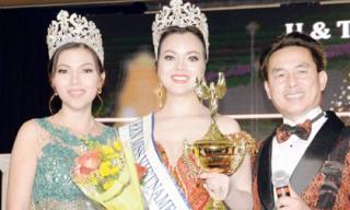 Ruby Anh Phạm đăng quang Hoa hậu Phụ nữ quốc tế tại Mỹ