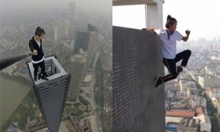 Diễn viên Trung Quốc bỏ mạng khi quay cảnh mạo hiểm ở tầng 62