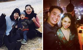 Hot girl và hot boy ngày 10/12/2017: Ly Kute vui vẻ bên con trai ở Hàn Quốc, Baggio đón sinh nhật vui vẻ cùng vợ