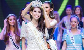 Liên Phương xuất sắc giành ngôi vị Á hậu 1 Hoa hậu Đại sứ Du lịch Thế giới 2017