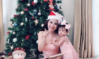 Á hậu Diễm Trang và con gái đáng yêu dưới góc chụp của chồng doanh nhân