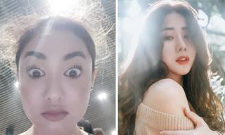 Hot girl và hot boy ngày 12/12/2017: Fung La khiến fans 'hết hồn' với kiểu make up lạ, Hà Thương khoe nhan sắc quyến rũ