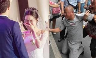 Ngày cưới biến thành ác mộng kinh hoàng khi bố đẻ quỳ xuống trước mặt chồng tôi xin tiền