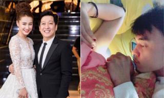 Tin sao Việt ngày 12/12/2017: Trường Giang lên tiếng về tin đồn chia tay Nhã Phương, 'Tùng Còi Người phán xử' nhổ lông nách cho vợ bầu