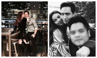 Bỏ mặc thị phi bủa vây, Hà Hồ và Kim Lý vẫn hạnh phúc bên nhau
