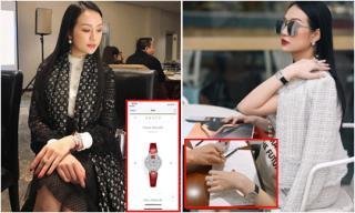 Bà xã Tuấn Hưng - Hương Baby sở hữu bộ sưu tập đồng hồ tiền tỷ chẳng hề thua kém chồng