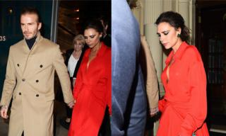 Victoria Beckham khoe vòng một bên chồng nhưng chẳng thể gợi cảm nổi vì quá gầy