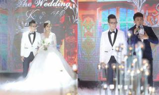 Sao Việt đến tham dự đám cưới của em gái Trấn Thành