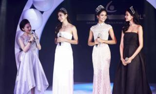 Top 3 Hoa hậu Hoàn vũ Việt Nam 2017 xuất hiện lộng lẫy cùng vương miện tiền tỷ tại Phú Quốc