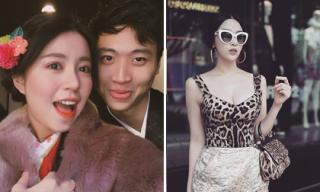 Hot girl và hot boy ngày 17/1/2018: Mẫn Tiên rạng rỡ bên bạn trai ở Nhật, Huyền Baby diện đồ hiệu xuống phố