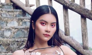 Quán quân Next Top Kim Dung dịu dàng khi diện đầm hoa