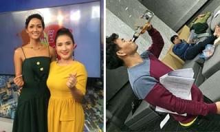 Tin sao Việt ngày 17/1/2018: Phía H'hen Niê lên tiếng về việc đến trễ giờ, Xuân Bắc bị bắt quả tang uống rượu khi đọc kịch bản Táo Quân