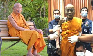 Hơn 2 tháng qua đời, xác nhà sư Thái Lan vẫn gần như còn nguyên vẹn