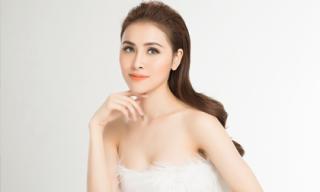 Hoa Hậu Thư Dung khoe nhan sắc tựa 'tiên nữ' trong bộ ảnh mới đón xuân