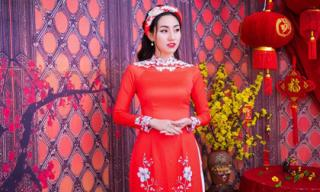 Sang năm mới, Á hậu Ngô Trà My 'đổi gió' với style make-up đanh đá