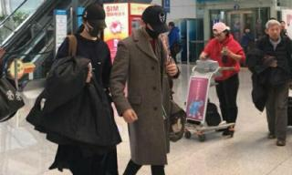 Phạm Băng Băng và Lý Thần tay trong tay trở về Bắc Kinh sau kỳ nghỉ Tết ở quê nhà