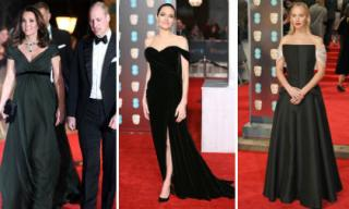 Công nương Kate Middleton vác bụng bầu đọ sắc cùng dàn sao hạng A trên thảm đỏ BAFTA