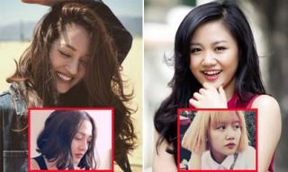 Sau khi chia tay, sao Việt bỗng dưng cắt phăng mái tóc dài để 'đổi gió'