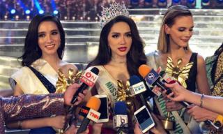 Hé lộ lý do khiến Hương Giang chọn tiếng mẹ đẻ cho phần thi ứng xử tại Hoa hậu chuyển giới Quốc tế
