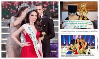 Đoạt vương miện Hoa hậu Chuyển giới Quốc tế 2018, Hương Giang có được những phần thưởng gì?