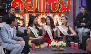 Bị hỏi về tin đồn mua giải trên truyền hình Thái, đây là phản ứng không ngờ của Hương Giang