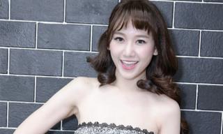 Hari Won gợi cảm với váy cúp ngực lấp lánh trong sự kiện tri ân người hâm mộ