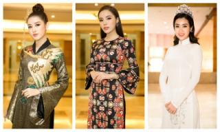 Sau những ồn ào cá nhân, Kỳ Duyên lần đầu xuất hiện tại họp báo Hoa hậu Việt Nam 2018