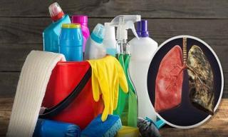Không chỉ thuốc lá, nước rửa chén, lau nhà có thể gây suy giảm chức năng phổi