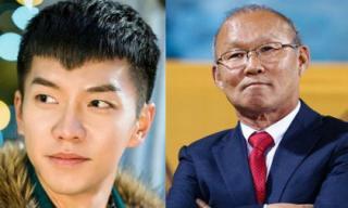 'Chàng rể quốc dân' Lee Seung Gi đến Việt Nam gặp gỡ HLV Park Hang Seo
