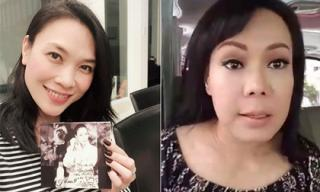 Mỹ Tâm tặng đĩa cho Việt Hương và đề nghị: 'Chị có thể bớt duyên giùm em chút được không?'
