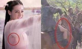'Chết cười' với những lỗi rách áo, quên quần hài hước trong phim Hoa ngữ