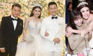 Đàm Vĩnh Hưng, Hari Won rạng rỡ đến dự hôn lễ của Tố Ny và chồng đại gia