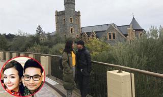 Khoảnh khắc đáng nhớ của vợ chồng Huỳnh Đông, Ái Châu khi đi du lịch Mỹ