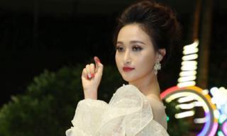 Người đẹp Võ Hồng Nhung lộng lẫy khoe sắc thu hút mọi ánh nhìn