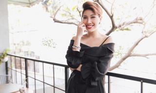 Ca sĩ Pha Lê khoe nhan sắc rạng rỡ trong bộ ảnh mới