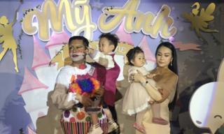 Ca sĩ Tuấn Hưng tổ chức sinh nhật hoành tráng cho con gái