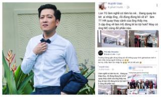 Chưa bước qua scandal tình cảm, Trường Giang lại bị tố làm việc thiếu chuyên nghiệp?