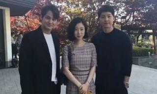 2 mỹ nam đình đám xứ Hàn gây sốt khi cùng lọt vào một khung hình