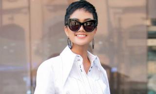 Hoa hậu H'Hen Niê 'thả thính' fans bằng trang phục street style độc đáo