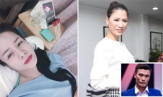 Tin sao Việt 24/4/2018: Nhật Kim Anh nhập viện sau tin đồn đi ngoại tình, Trang Trần ủng hộ Bùi Tiến Dũng đi catwalk
