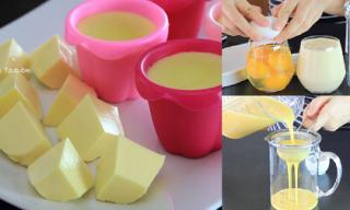 Cách làm đậu phụ từ trứng gà mềm thơm nức mũi