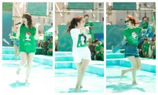 Hè nóng thì mặc hè nóng, Minh Hằng, Đông Nhi, Hari Won rủ nhau đi trên nước vừa giải nhiệt vừa điệu nghệ