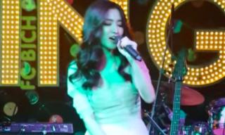 Bích Phương lần đầu hát live hit mới 'Bùa yêu' cực hay