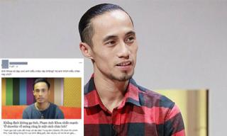 Cư dân mạng phản ứng gay gắt về lời xin lỗi thiếu sự chân thành của Phạm Anh Khoa