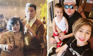 Tin sao Việt 13/5/2018: Đàm Vĩnh Hưng nhắn nhủ lời yêu thương đến mẹ, Vũ Duy Khánh cùng vợ cũ đưa con đi chơi