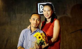 Lý do gì khiến vợ Phạm Anh Khoa viết status 'tự hào' về chồng nhưng sau đó phải chỉnh sửa?